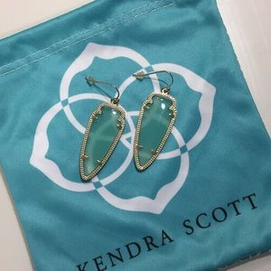 "Kendra Scott ""Sky"" earrings 💜"